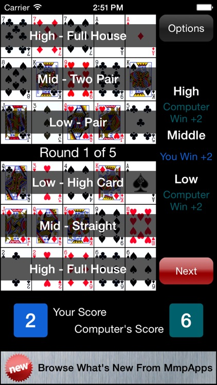 Best of Poker Solitaire screenshot-2