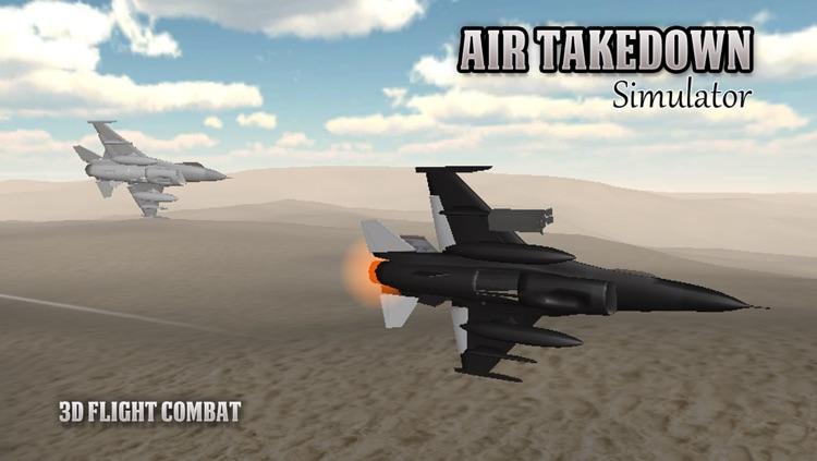 Air Takedown 3D Flight Simulator screenshot-4