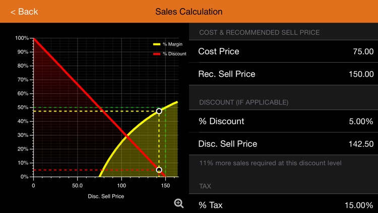 MarginCalc screenshot-2