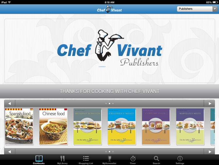 Chef Vivant – Customizable, Interactive eCookbooks screenshot-0