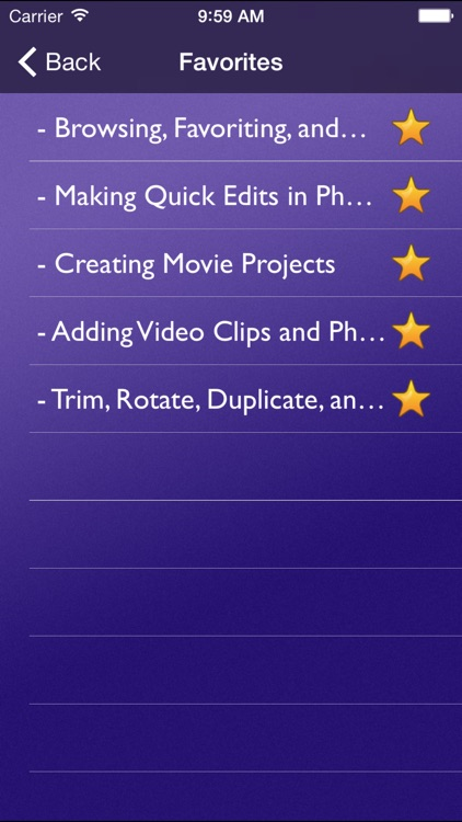 Tutor for iMovie for iPad screenshot-4