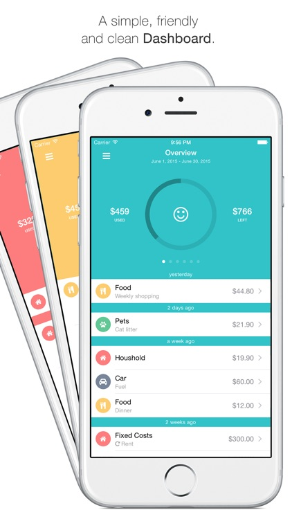 Spendy - The fastest and most efficient way to keep your expenses, budgets and loans in mind