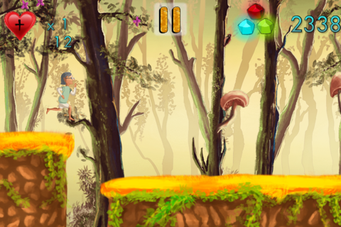 Run Granny Run - A Fun Jungle Adventure HD FREE screenshot 2
