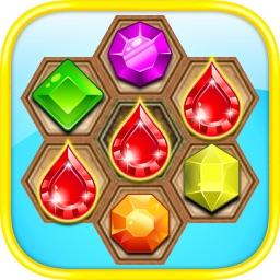 Gem Jewel Quest Adventure II - The Best Diamond Crush Puzzle Addicting Games