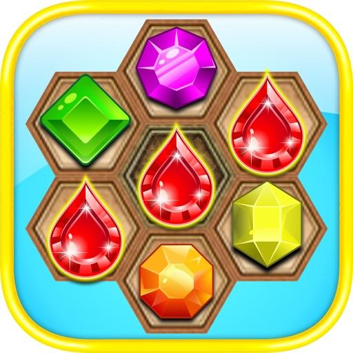 Gem Jewel Quest Adventure II - The Best Diamond Crush Puzzle Addicting Games iOS App