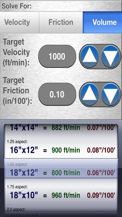 HVAC Duct Size Calculator screenshot-4