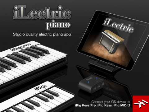 Screenshot #5 pour iLectric Piano for iPad