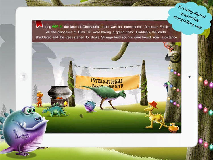 Dexter The Dino for Children by Story Time for Kids screenshot-3