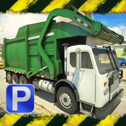 3D Garbage Truck Parking 2 PRO - Full Driving & Racing Simulator Clean Up Version