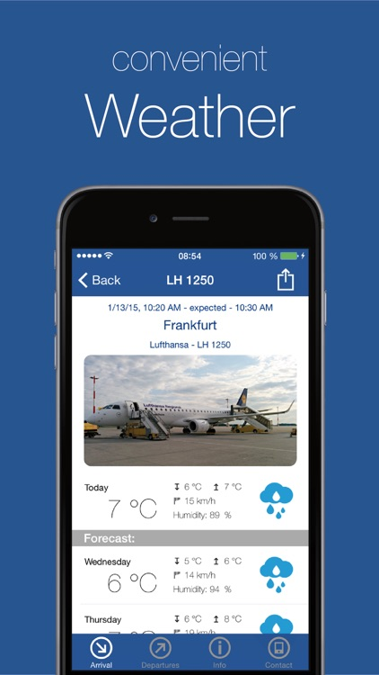blue danube airport Linz screenshot-1