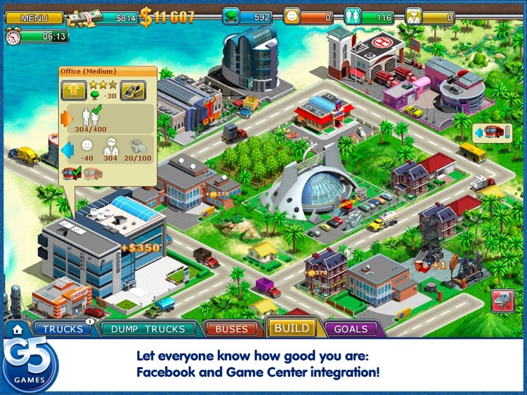 Virtual City 2: Paradise Resort HD screenshot-4