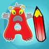 Abc Livre à colorier : Apprendre à écrire l'alphabet en anglais