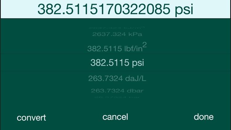 PhySyCalc - Scientific and Engineering Calculator screenshot-3