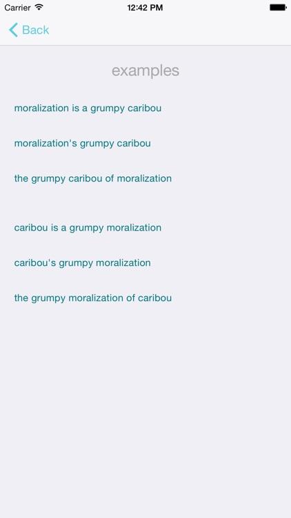 Metaphor Generator