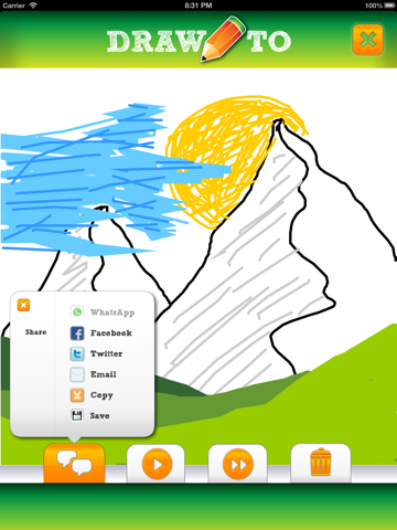 DrawTo - Send and receive drawings seeing as they are created-ipad-2
