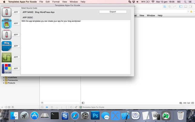 Xcode Templates | Templates Apps For Xcode Im Mac App Store