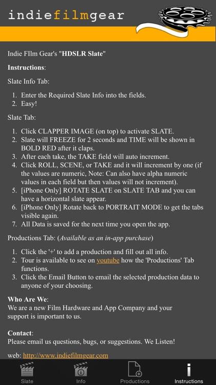 HDSLR Slate screenshot-4