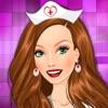 美しい看護師病院 - 女の子と子供のゲームをドレスアップします。