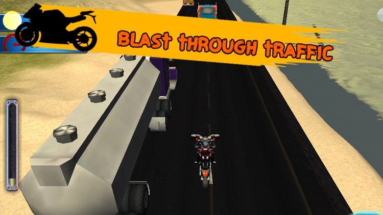 3D SuperBike Traffic Rush Racing - High Speed Highway Rider : FREE GAME