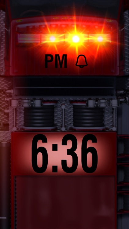Fire Truck Alarm Clock screenshot-3