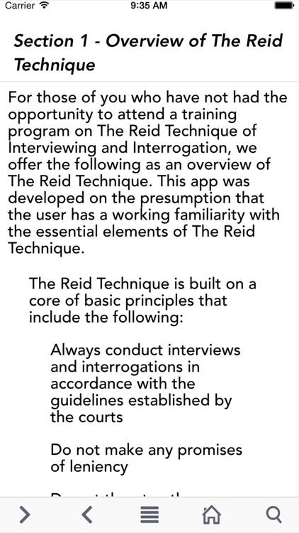 The Reid Technique
