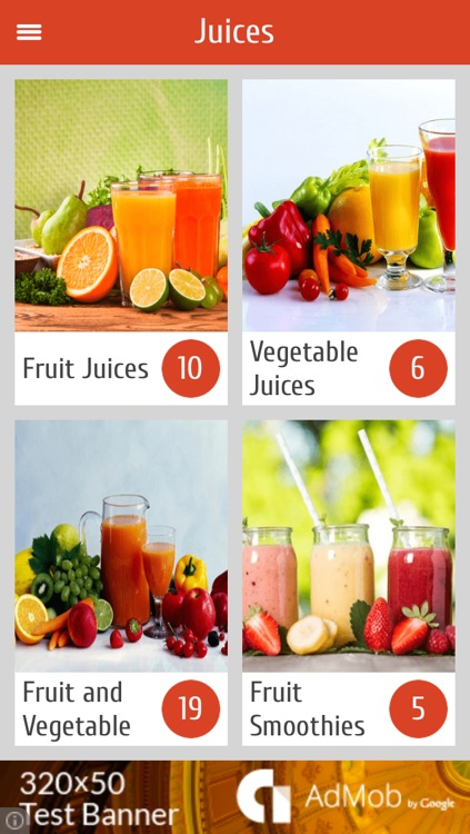 Juice Recipes For Healthy Life screenshot-0