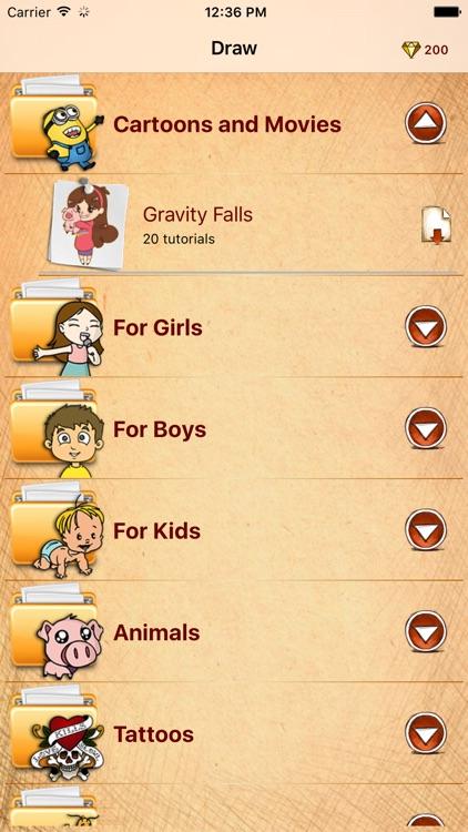Draw Gravity Falls Edition