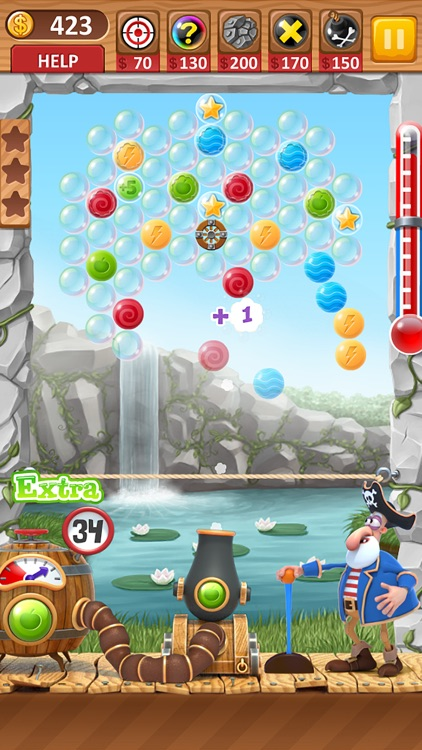 Bubble Shooter Archibald the Pirate screenshot-3