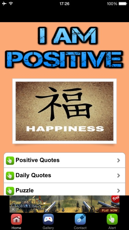 Positive Quotes - Be Positive