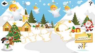 聖誕節兒童遊戲: 學進行比較和排序屏幕截圖2