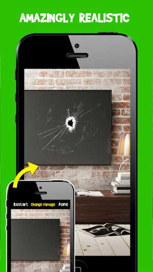 Damage Cam - Fake Prank Photo Editor Booth on the App Store