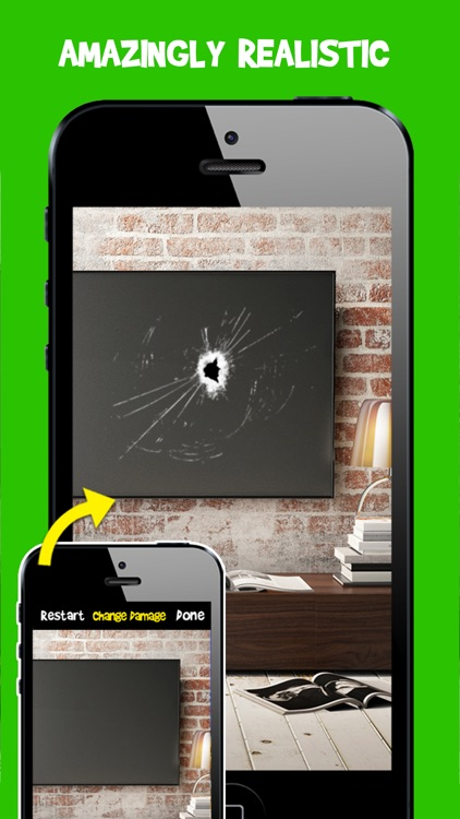 Damage Cam - Fake Prank Photo Editor Booth