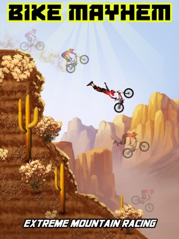 Bike Mayhem Mountain Racing Free by Best Free Games на iPad