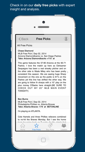 Free Sports Picks & Odds on the App Store
