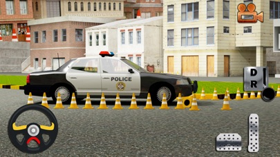 Real Cop Car Parking Simulator – City Police Truck SUV Driving Test Run 3D Game 5