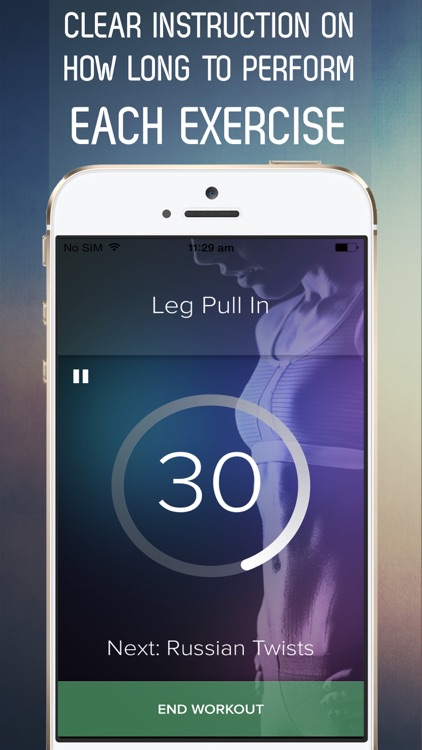 7 Minute Sexy Abs Workout for Fab Abs in 30 Days screenshot-3