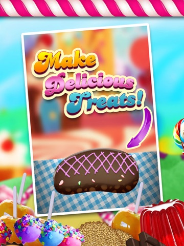 A Circus Food Stand Candy Creator Hd Free Maker Game App Price Drops