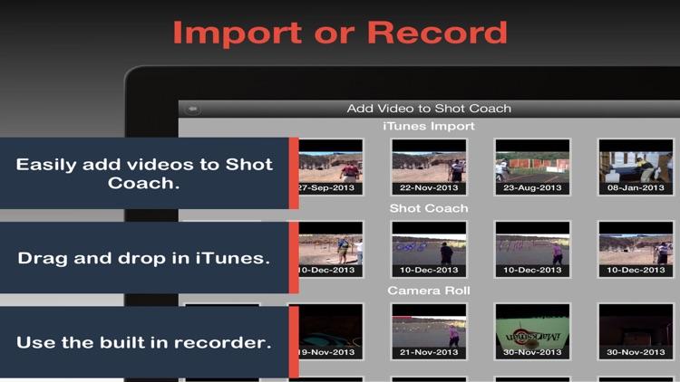 Shot Coach - Video Analysis Tool