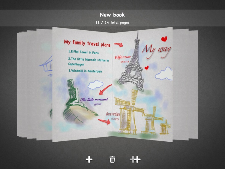 My Sketch Paper - Write, Paint on Notebook screenshot-0
