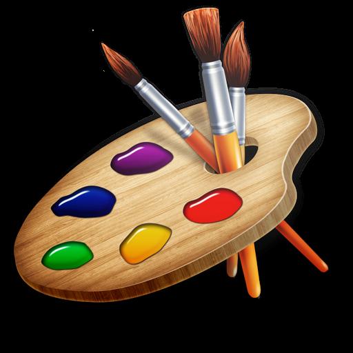 Paint Desk for Kids