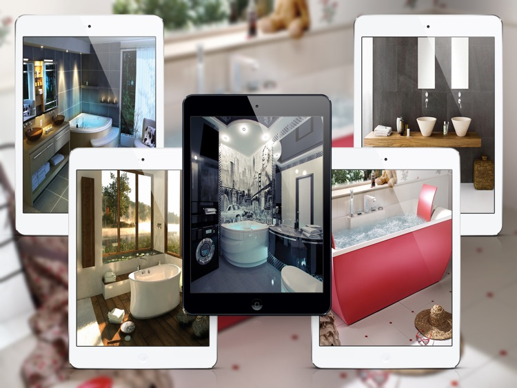 Stunning Bathroom Design Ideas for iPad screenshot-3