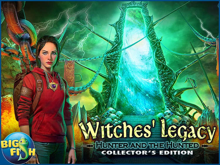 Witches' Legacy: Hunter and the Hunted HD - Hidden Objects, Adventure & Magic (Full) screenshot-4