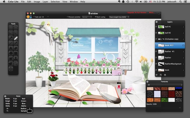 Colar Lite - an Advanced Image Editor скриншот программы 2