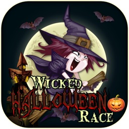 Wicked Halloween Witches Racing