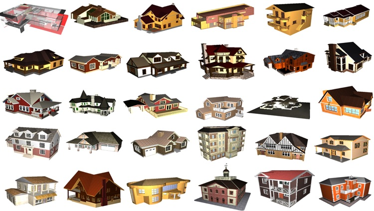 3D Houses V2 PRO Free screenshot-1