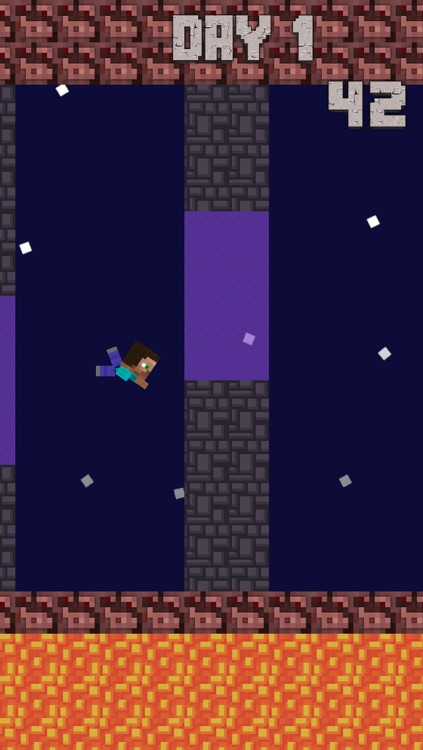 Crafty Steve - The Flappy Fun Bird Man screenshot-3