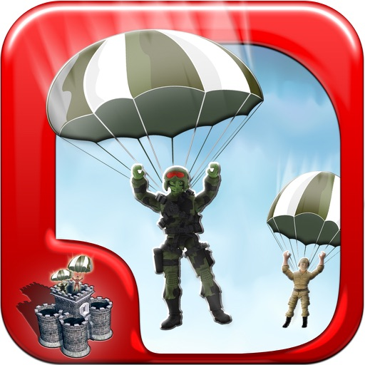 A Toy Soldier Parachute Drop Rescue Mission