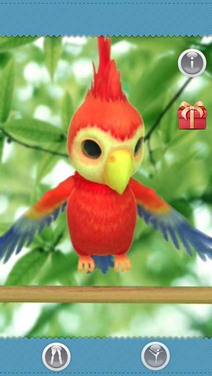 Talking Polly the Parrot FREE screenshot-4