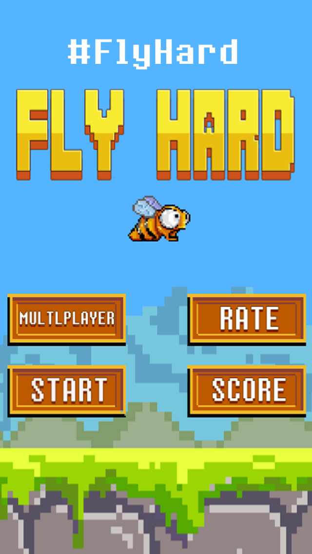 Flappy Fly Hard ™ - Not An Easy Bird Game Impossible!のおすすめ画像5