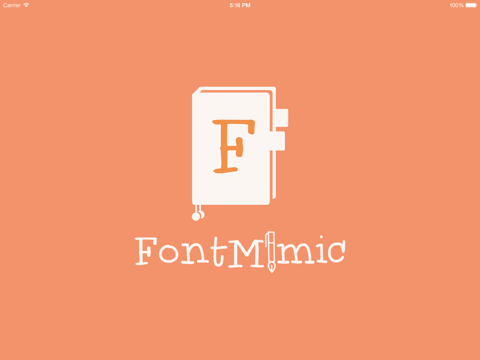 FontMimic HD screenshot 2
